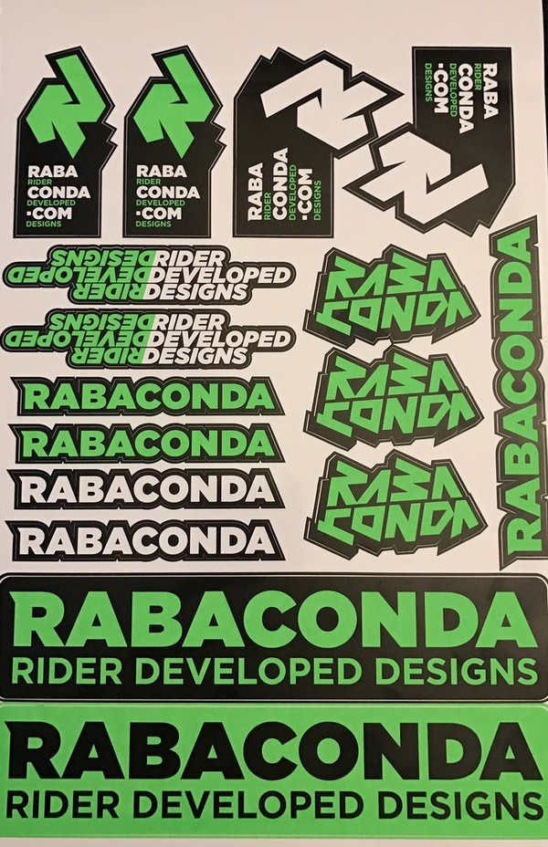 Rabaconda Stickerkit