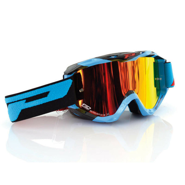 Pro Grip 3450 Multilayered Goggles Blau Motocrossbrille