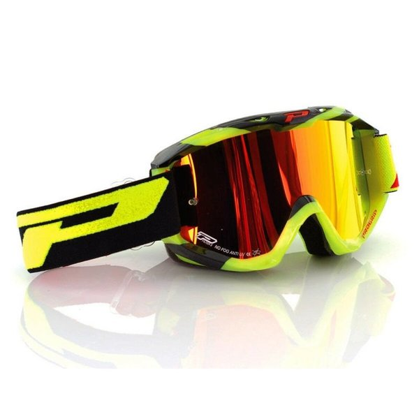 Pro Grip  3450 Multilayered Goggles Neongelb