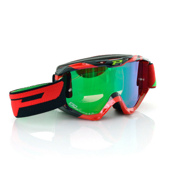 Pro Grip 3450 Multilayered Goggles Rot