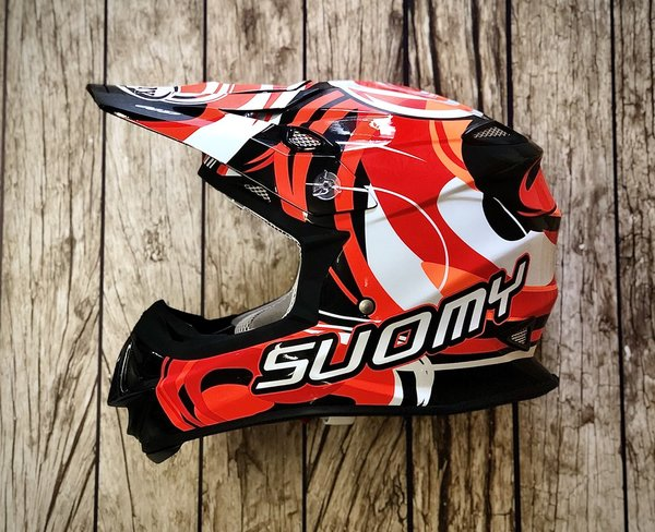 Suomy Mr. Jump Vortex Orange/Red