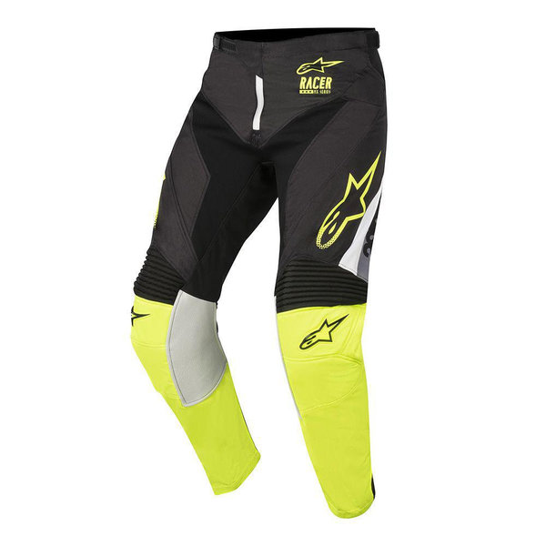 Alpinestars Supermatic Hose Black Yellow Fluo Gray