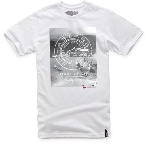 Alpinestars T-Shirt AMC Goods White