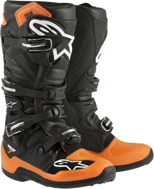 Alpinestars Tech 7 Black/Orange