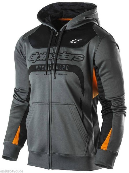 Alpinestars Session Fleece Jacke Grau/Orange