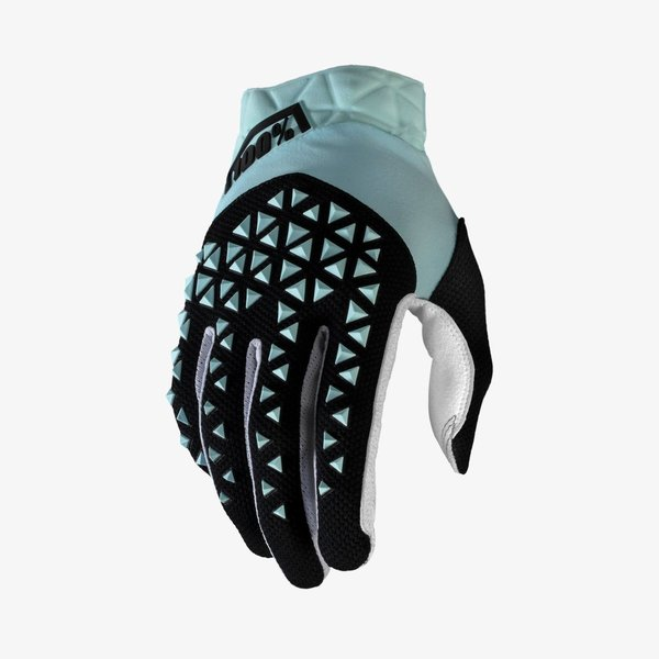100% Airmatic Gloves MX / MTB Handschuh Fluo Blue/Black