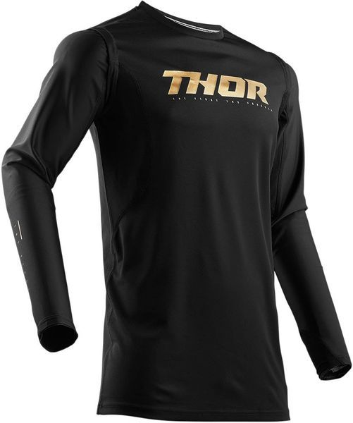 Thor Prime Fit 50TH Anniversary Fahrerhemd Black/Gold