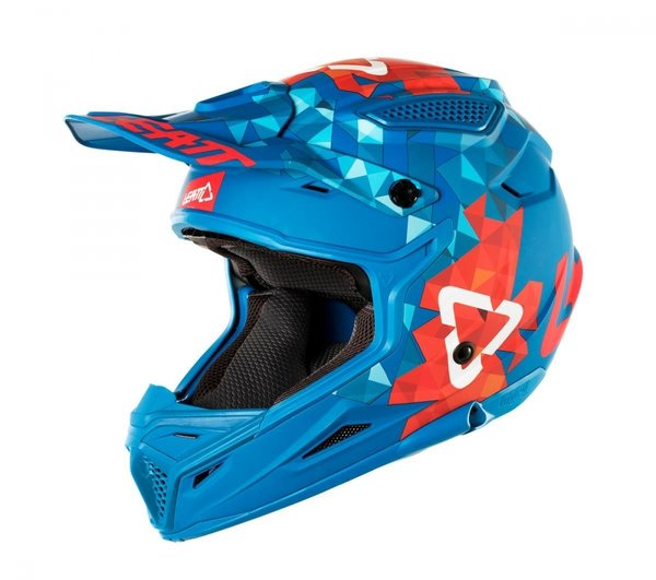 LEATT MX-Helm 4.5 V24 blue / red