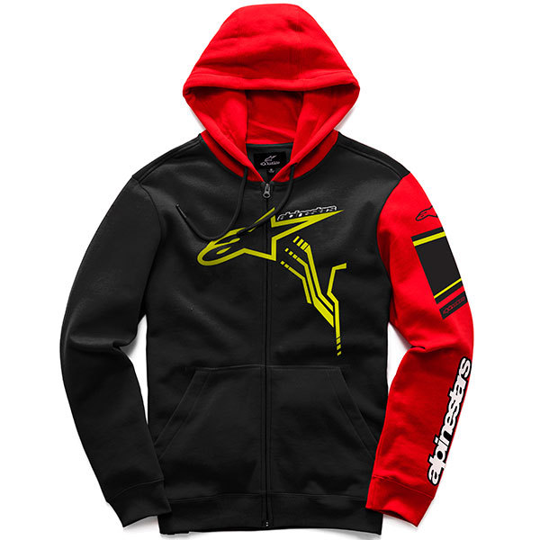 Alpinestars Hoodie GP Plus Black/Red
