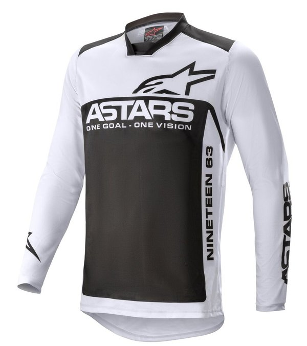 Alpinestars Supermatic MX Jersey 2021 Light Grey/Black