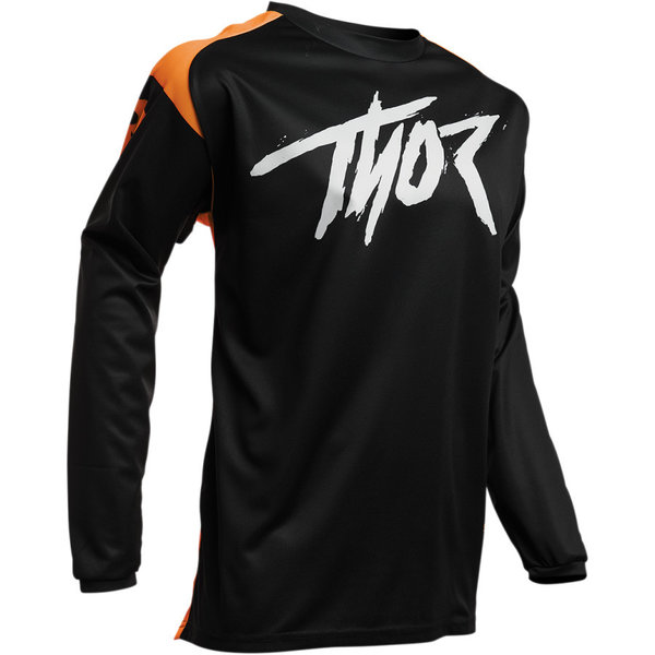 Thor SECTOR Link Shirt Black/Orange