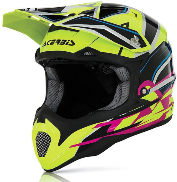 Acerbis Impact Black Yellow Helm