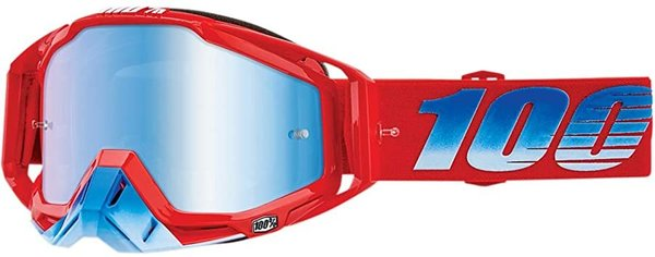 100% Motocross Brille Racecraft Kuriakin Blue Mirrored