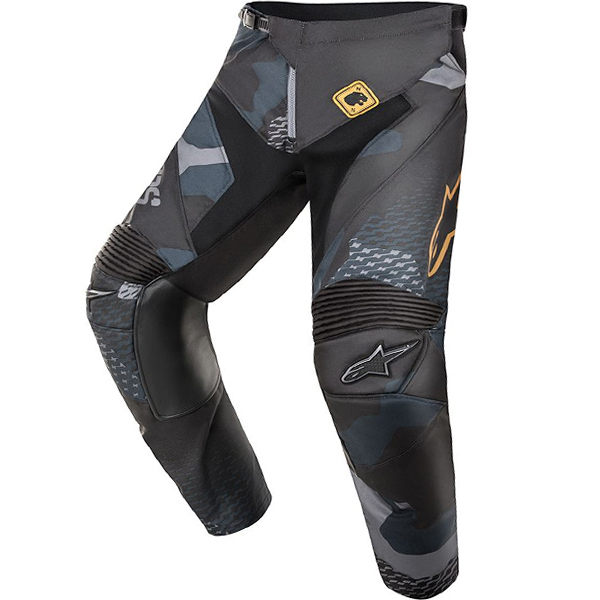 Alpinestars Racer 8 Hose Black Navy Camo Gold AVIATOR