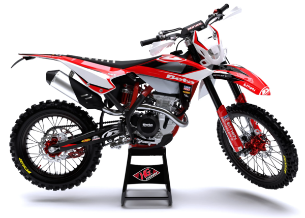 HG Stickers Factory Kit Beta Enduro ab 2020 komplett Gudrun Wiking Series
